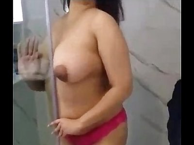 Indian Girl Anita Strip Naked In Shower - FuckMyIndianGF.com