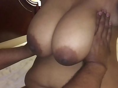 lanja getting fucked by his son infront of cuckold dad