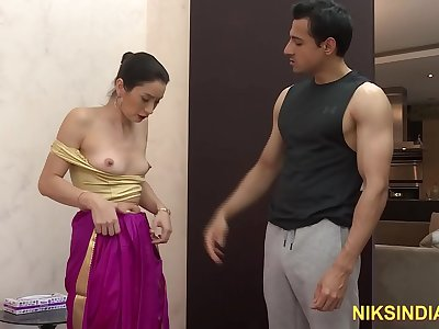Desi dude with big dick fucks Indian Bhabhi asshole