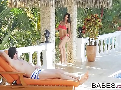 Babes - Elegant Anal - A Hot Day starring Alexa Tomas and Joel clip